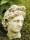 Greek Bust Of Apollo Relic