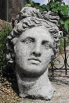 Apollo Bust Garden Planter Statue