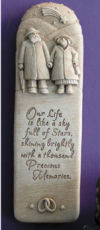 Our Life Together Wall Plaque Wedding Sculpture