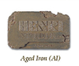 Henri Color Sample - Aged Iron