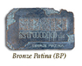 Henri Color Sample - Bronze Patina