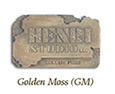 Henri Color Sample - Golden Moss