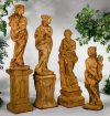 Italian Four Seasons Set of Sculptures