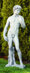 David By Michelangelo Cement Statue 47