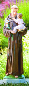 Saint Anthony With Child Sculpture 31