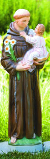 Saint Anthony With Child Sculpture 26