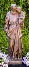 Saint Joseph and Child Life-size Statue
