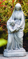 Saint Anne & Child Sculpture 16