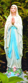 Our Lady Of Lourdes Statue 17.5