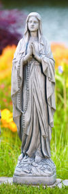 Our Lady Of Lourdes Sculpture 26.5