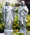 Jesus & Mary Sacred Heart Set 25