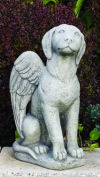 My Guardian Dog Angel Statue
