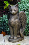 My Guardian Cat Angel Statue