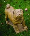 Pug Dog Life-size Sculpture Large