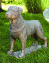 Rottweiler Dog Sculpture Life-size