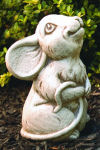 Rudy Mouse Cement Garden Statue