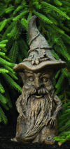 Forest Tree Wizard Garden Sculpture