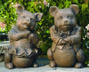 Mr & Mrs Pig Garden Cement Statues