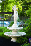 Two Tier Grecian Lady Fountain  96