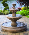 Three Tier Sonoma Pool Fountain 45.75