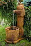 Country Pitcher Pump Fountain 37.5