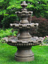 Three Tier Renault Fountain