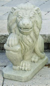 Lion With Shield Right 19