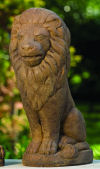 Sitting Lion Sculpture 21