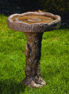 Nest Cement Garden Bird Bath 27