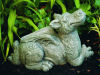 Sweet Pea Dragon Garden Statue