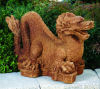 Fire Asian Dragon Sculpture 17