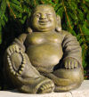 Hotei Sitting God of Contentment & Happiness Statue