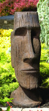 Easter Island God Sculpture 36