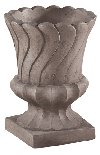 Contemporary Blossom Layered Leaf Urn