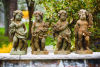 Four Seasons Cherub Set Of Four Statues