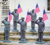 Armed Forces Military Branches Sculptures Set of Five