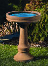 Plain And Simple Bird Bath 28.5