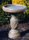 One Piece Lilac Bird Bath 22