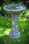 One Piece Sunflower Bird Bath