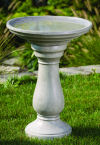 Lane Bird Bath Tall Garden Sculpture