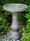 Scroll Bird Bath 25