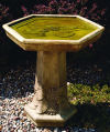 Lily Pad Bird Bath 29.5