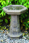 One Piece Lily Pad Bird Bath 21.5