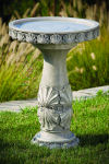 Classic Scallop Shell Bird Bath Garden Decor