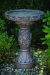 Napa Grape Bird Bath 25.5