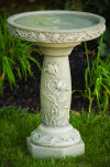 Tulip Garden Bird Bath 25.5