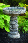 Quarry Stone Bird Bath 24