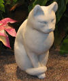 Sitting Cat Sculpture