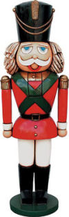 Nutcracker Life-size Christmas Display Statue
