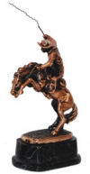 Remington Bronco Buster Sculpture